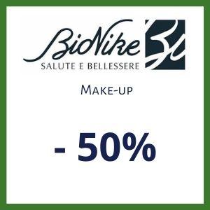 Promozione Make Up Bionike -50% di sconto