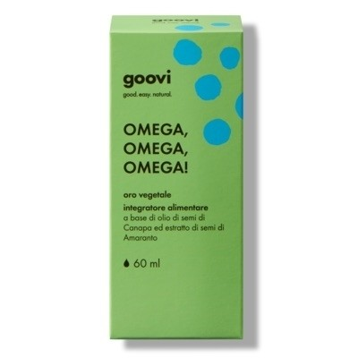 The Good Vibes Company Goovi Omega, Omega, Omega! Oro Vegetale 60ml