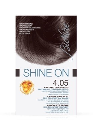 Bionike Shine On Trattamento Colorante Capelli - 4.05 Castano Cioccolato -