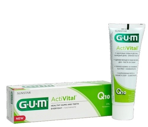 Sunstar Gum ActiVital Dentifricio Gel 75ml