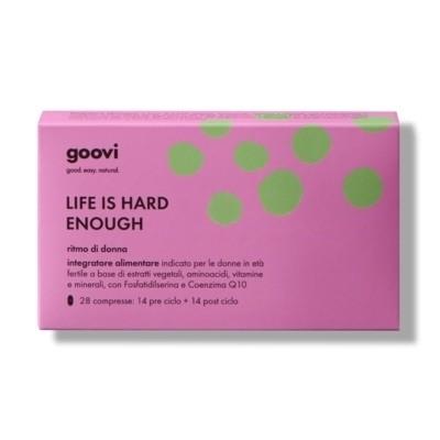 The Good Vibes Company Goovi Life Is Hard Enough Ritmo Di Donna 28 Compresse