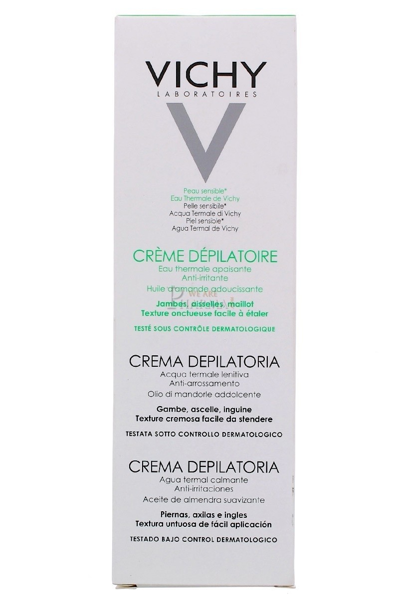 Vichy Crema Depilatoria 150ml