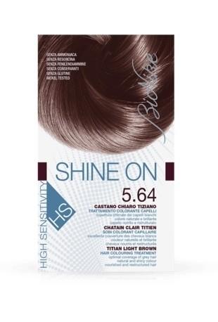 Bionike Shine On HS Trattamento Colorante Capelli - 5.64 Castano Chiaro Tiziano -
