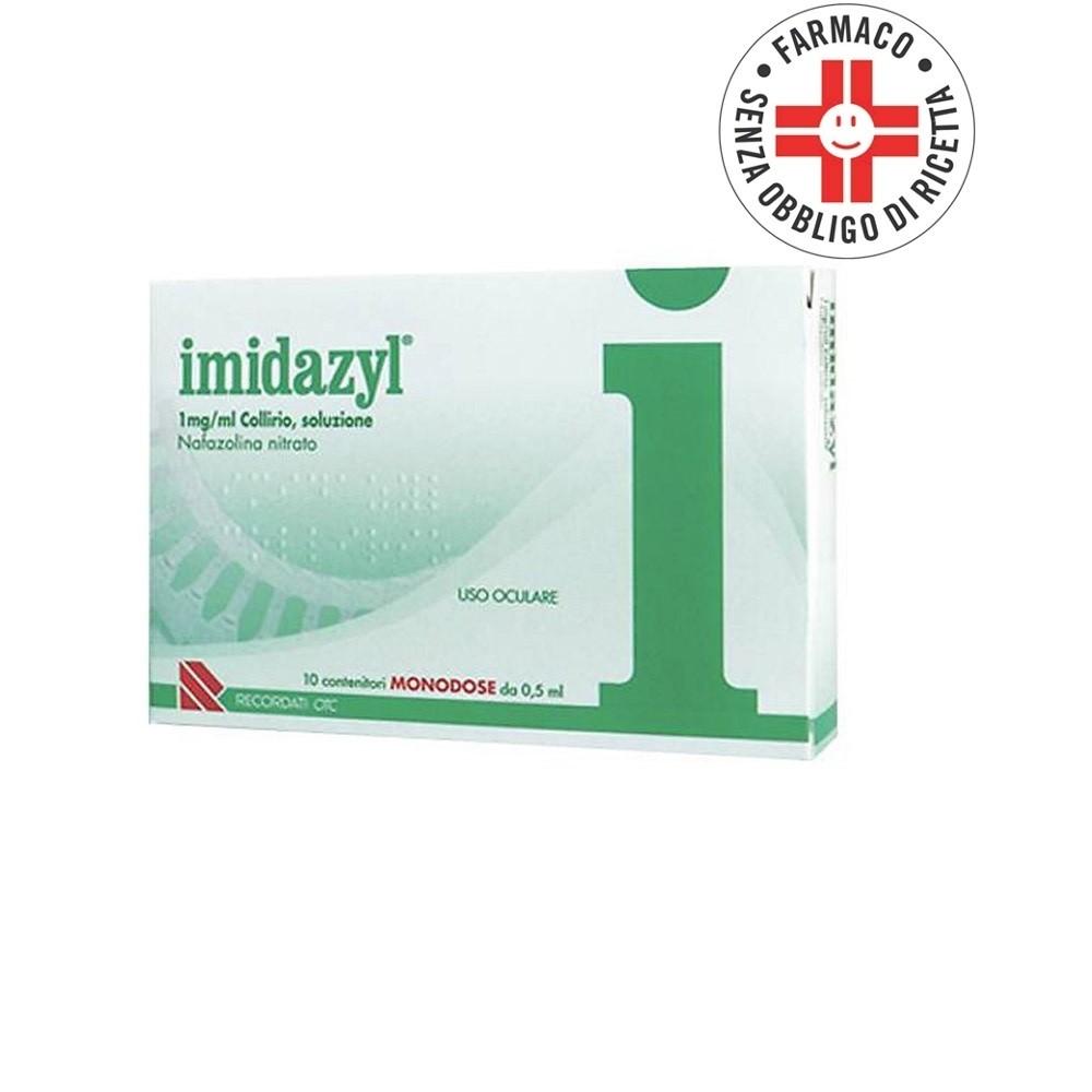 Imidazyl* collirio 10 flaconcini monodose 1mg/ml