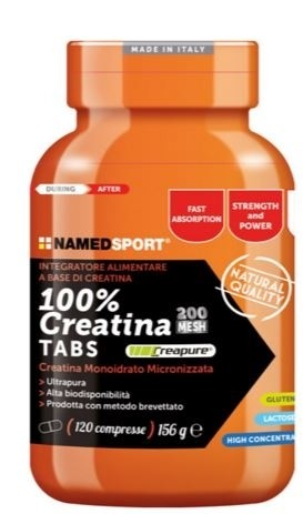 Named Sport Creatina Tabs 100% 120 compresse