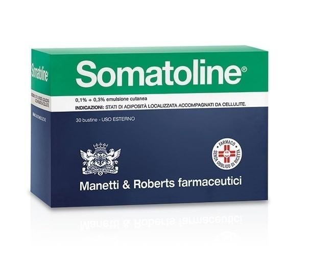 Somatoline Emulsione Cutanea 0,1% + 0,3% 30 Buste
