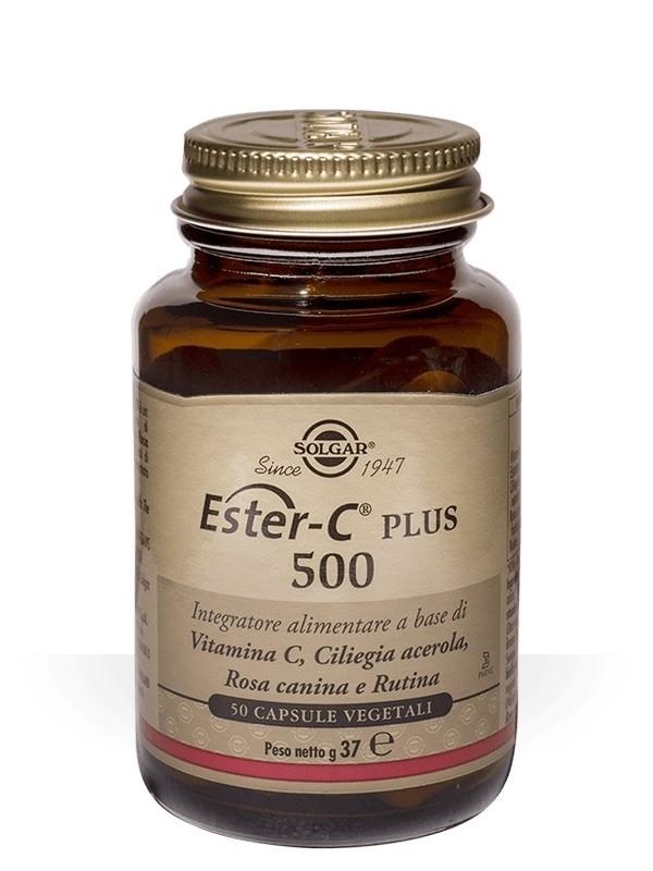 Solgar Ester-C Plus 500 50 Capsule Vegetali
