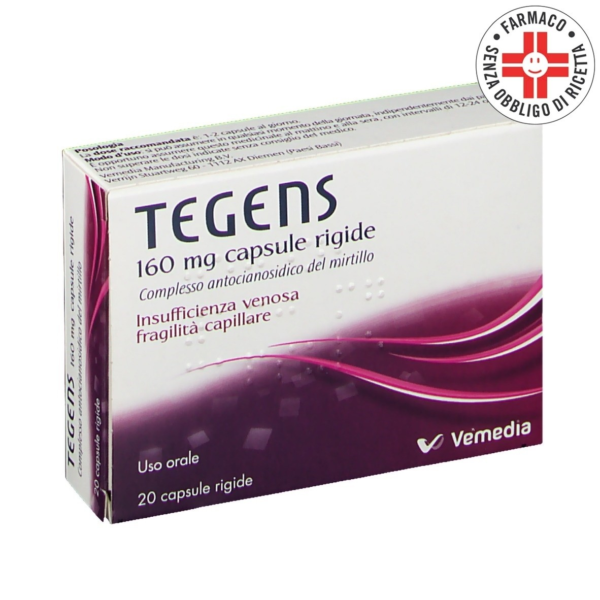 Tegens* 20 capsule 160mg