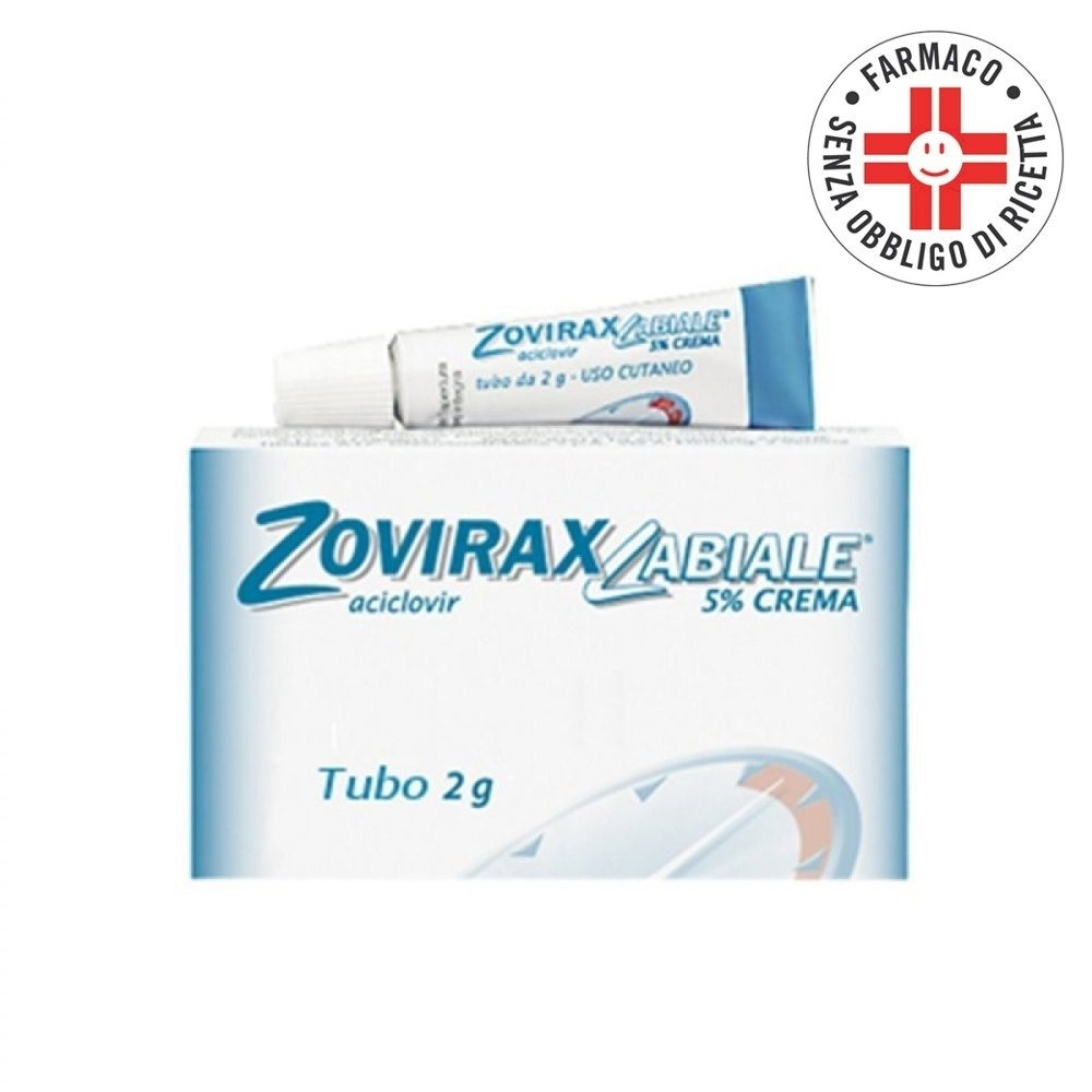 Zoviraxlabiale* Crema 2gr 5%