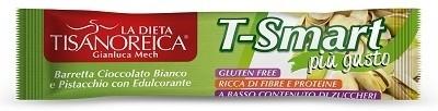 Tisanoreica style barretta t-smart pistacchio cioccolato bianco 35 g
