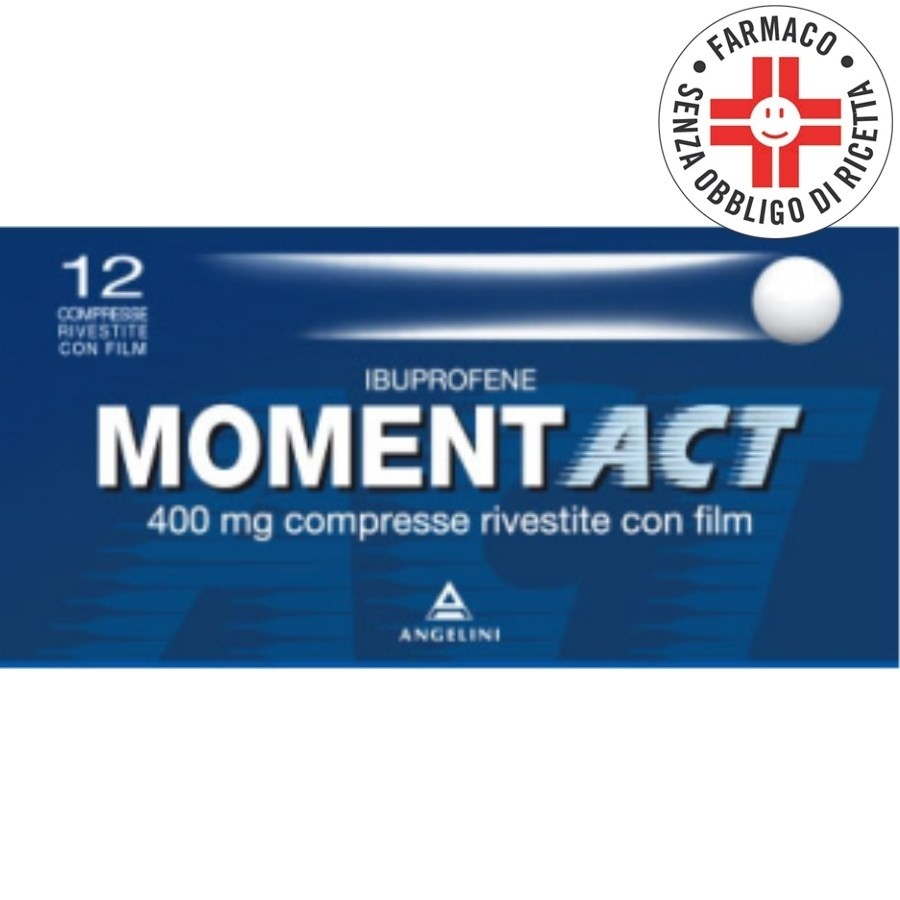 Momentact*12 Compresse Rivestite 400mg