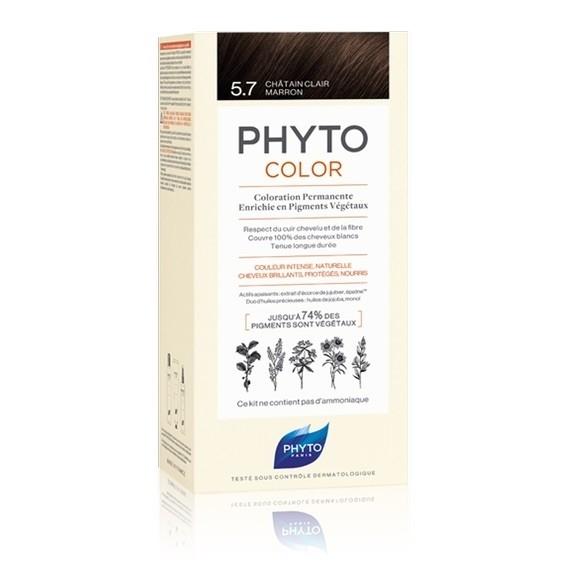 Phyto Color 5.7 Castano Chiaro Tabacco