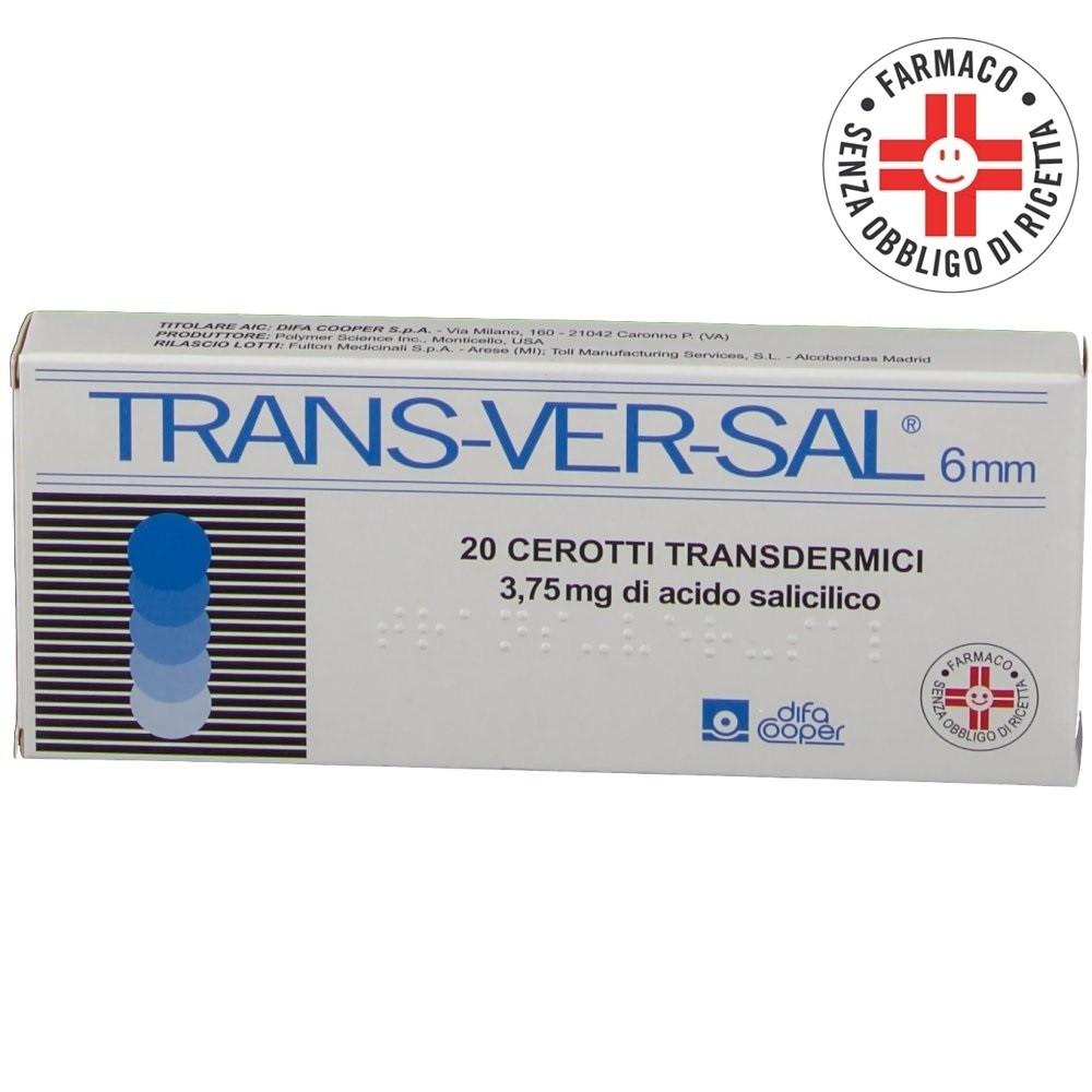 Transversal* 20 cerotti 6mm 3,75mg