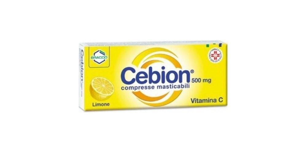 Cebion 500* 20 compresse masticabili limone