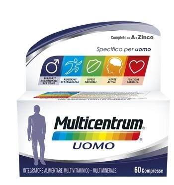 Pfizer Multicentrum Uomo 60 compresse