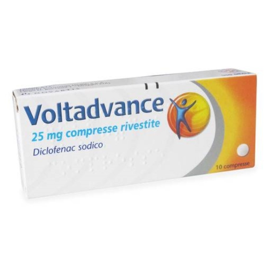 Voltadvance*10 compresse rivestite 25mg