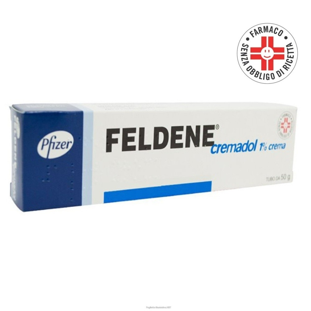 Feldene Cremadol* crema dermatologica 50 g 1%