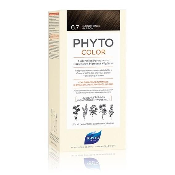 Phyto Color 6.7 Biondo Scuro Tabacco
