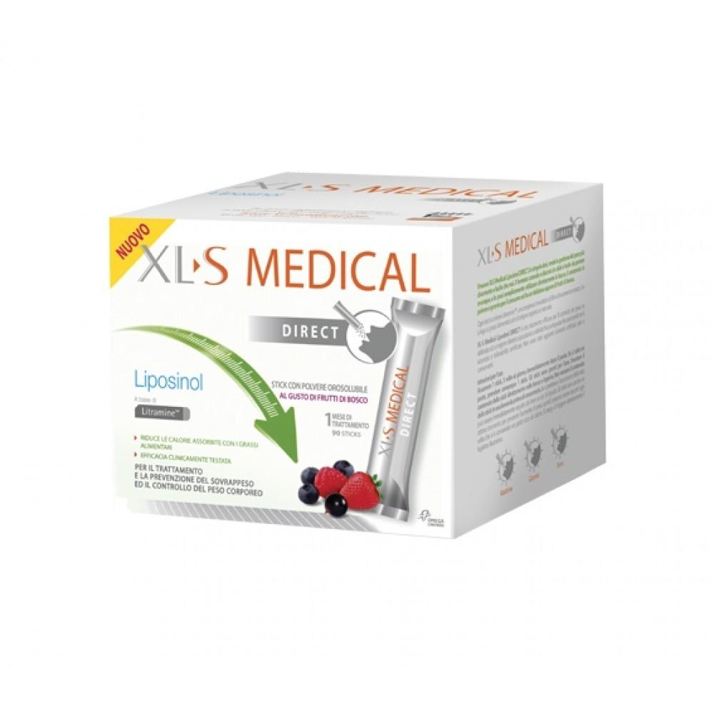 XLS Medical Liposinol Direct 90 Stick Orosolubili