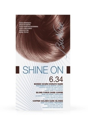 Bionike Shine On Trattamento Colorante Capelli - 6.34 Biondo Scuro Dorato Rame -