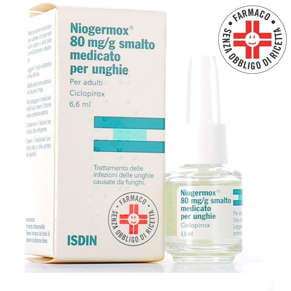 Niogermox* smalto unghie 3,3ml 80mg/g
