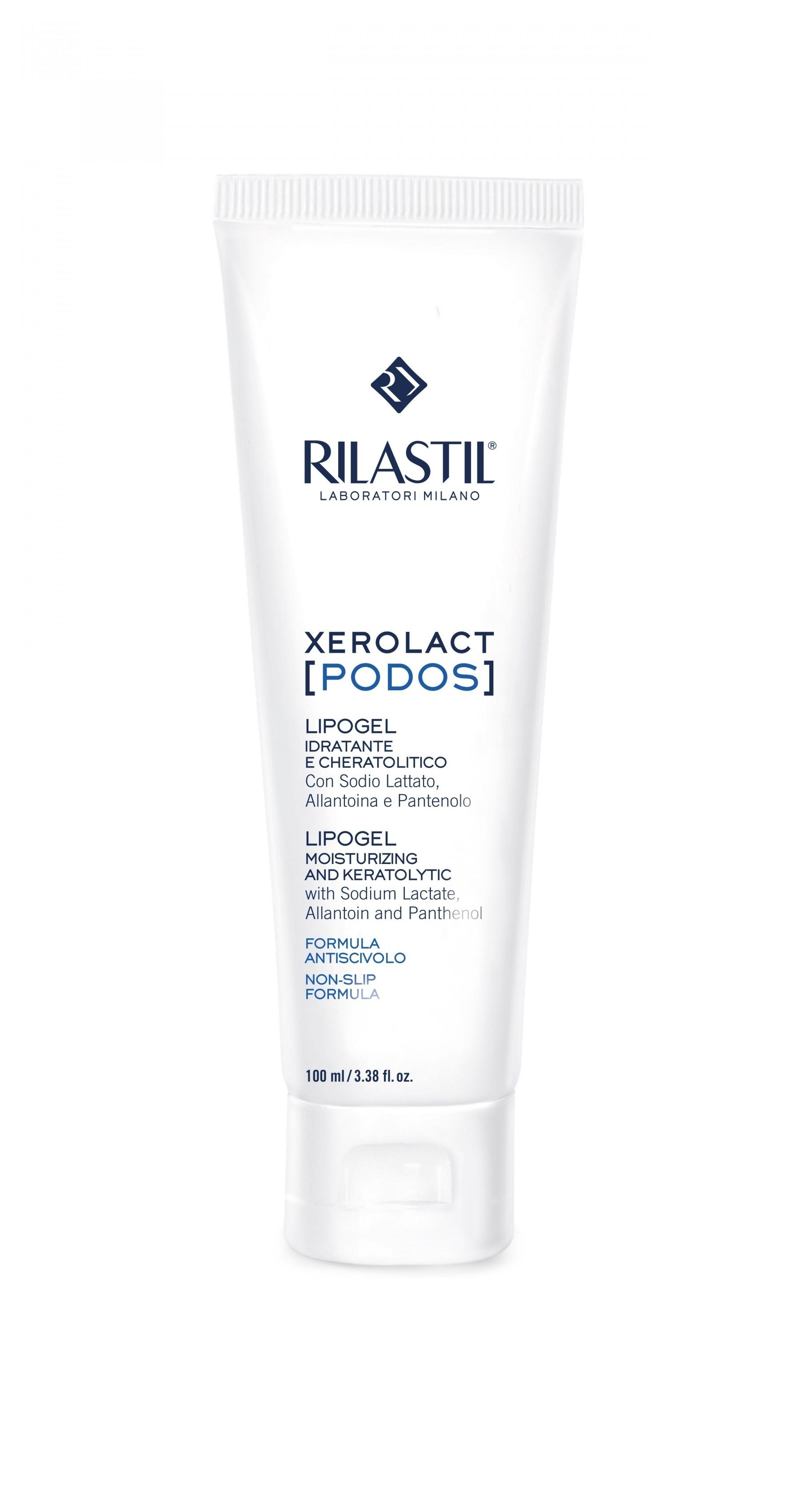 Rilastil Xerolact [Podos] Lipogel Idratante & Cheratolitico 100ml
