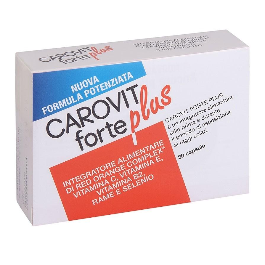 Carovit Forte Plus Integratore Alimentare 30 Capsule