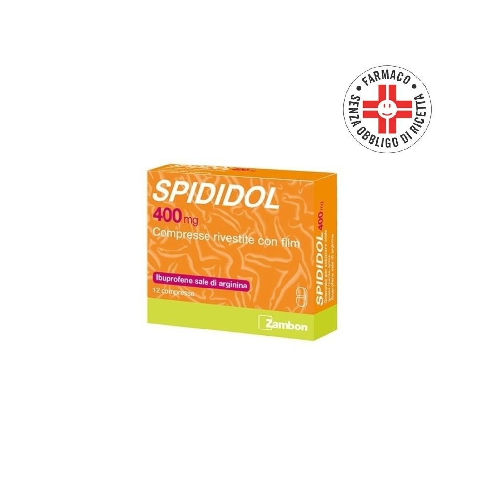 Spididol* 12 Compresse rivestite 400mg