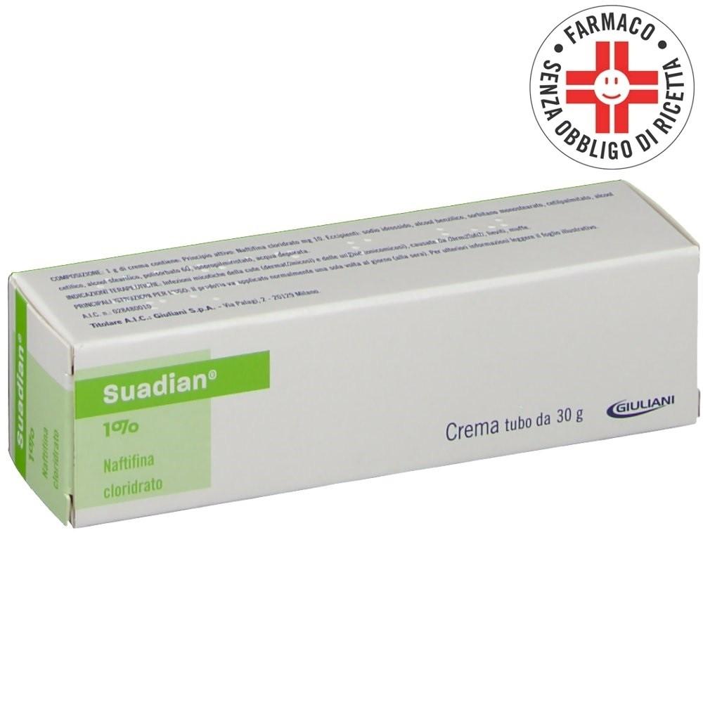 Suadian* crema dermatologica 30gr 1%