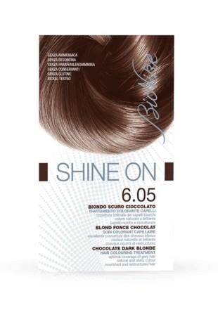 Bionike Shine On Trattamento Colorante Capelli - 6.05 Biondo Scuro Cioccolato -