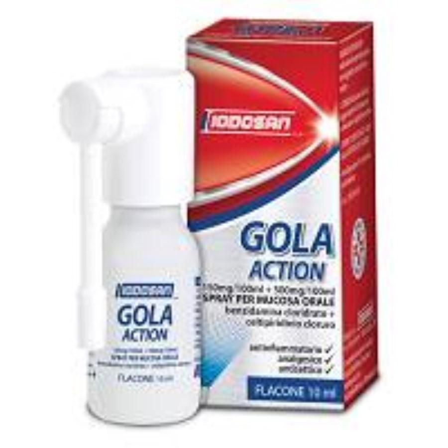 Iodosan Gola action*spray 0,15%+0,5% flacone da 10ml