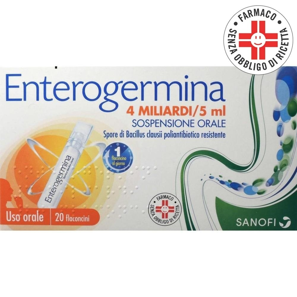 Enterogermina* 4miliardi 20flaconcini 5ml