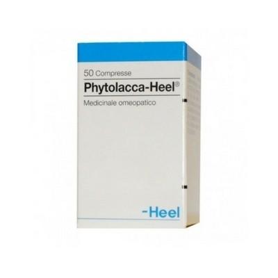 Phytolacca Infiammazioni ghiandole 50 compresse