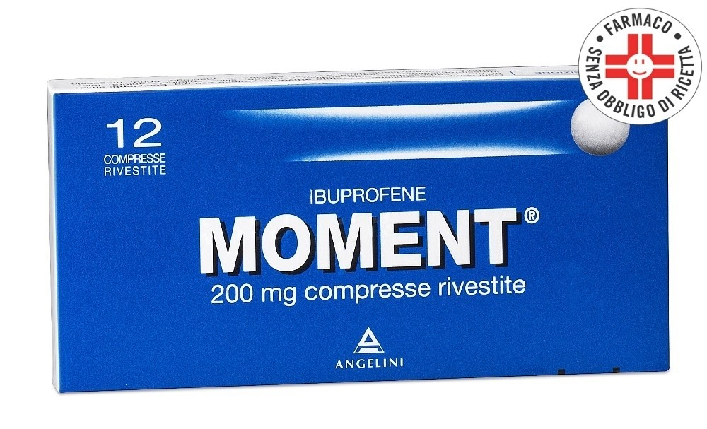 Moment* 12 compresse rivestite 200 mg