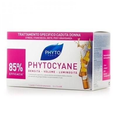 Phyto Phytocyane Trattamento Anti-Caduta Donna 12 Fiale x 7,5ml