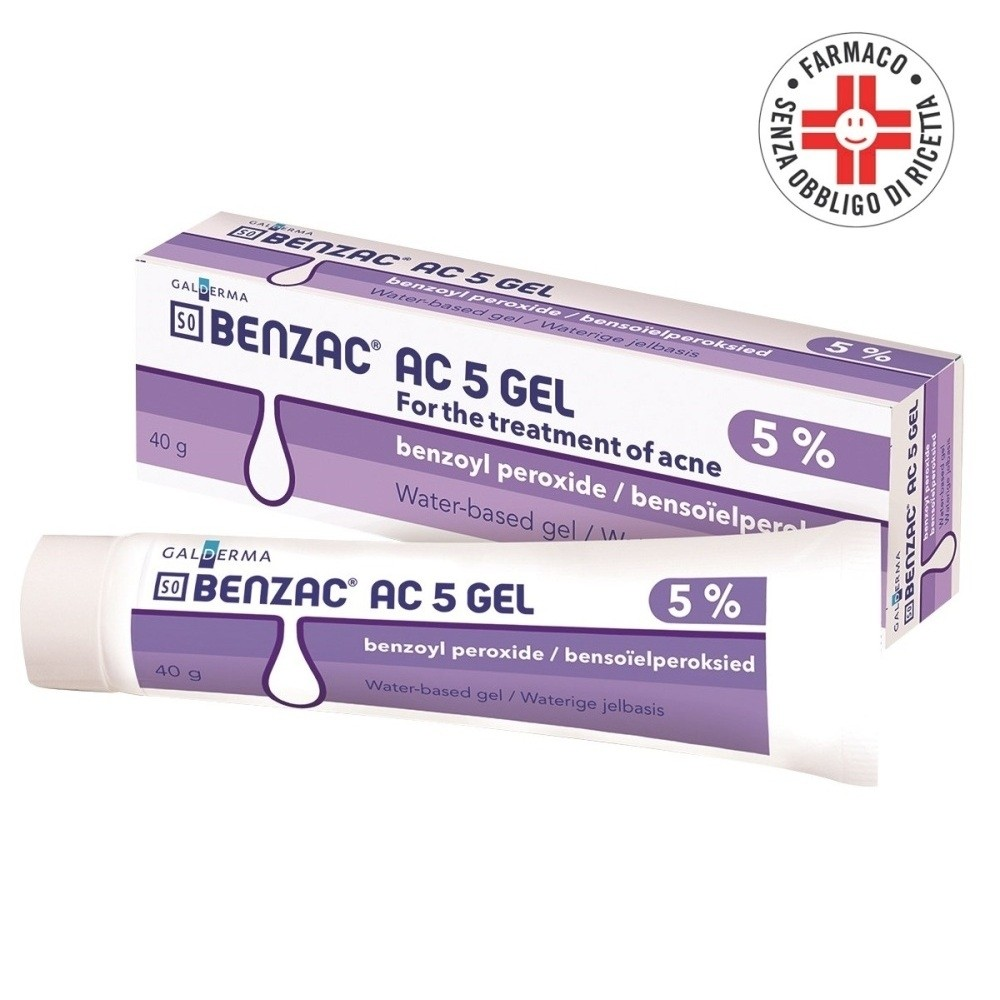 Benzac gel tubo da 40g 5%