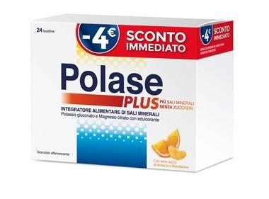 Pfizer Polase plus 24 bustine Gusto Arancia