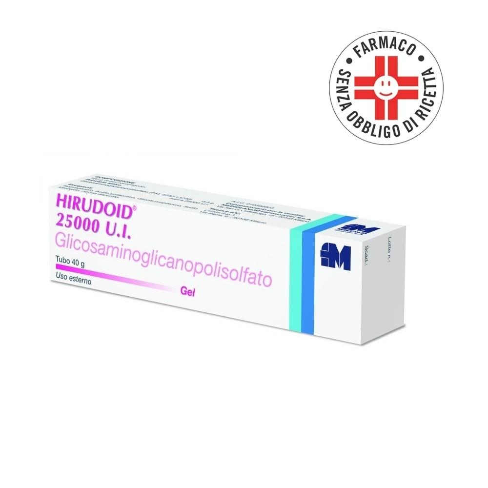 Hirudoid 25.000 UI* gel dermatologico 40gr