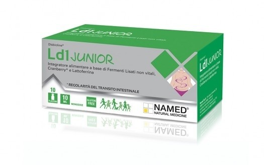 Named Ld1 Junior 10 flaconcini monodose