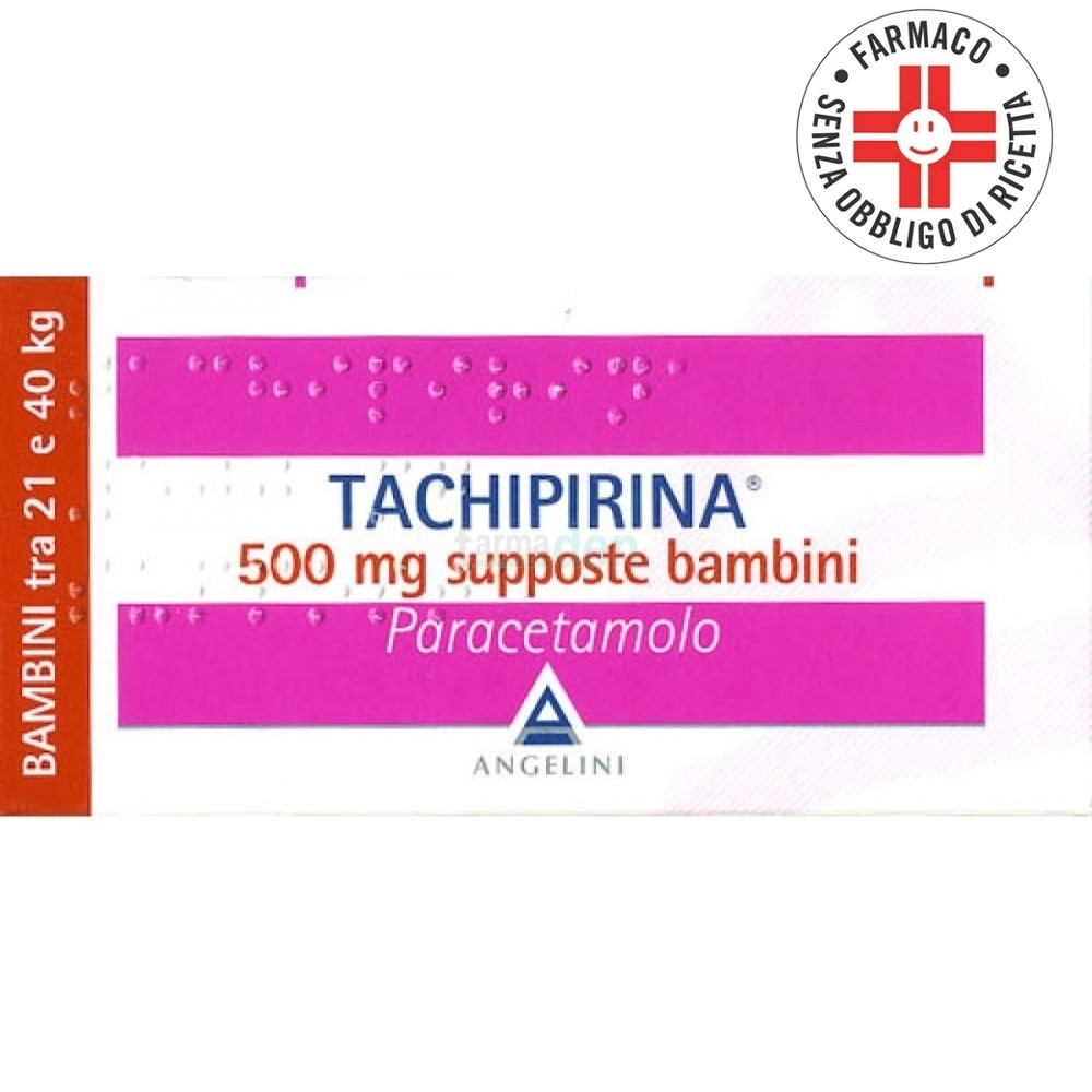 Tachipirina* 10 Supposte Bambini 500mg