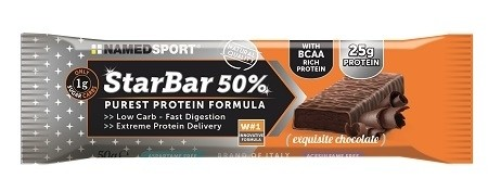 Named Starbar 50% protein exquisite chocolate 50 g