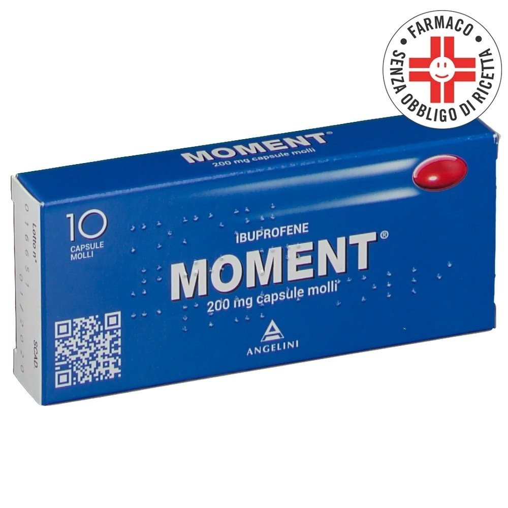 Moment* 10 capulse molli 200mg