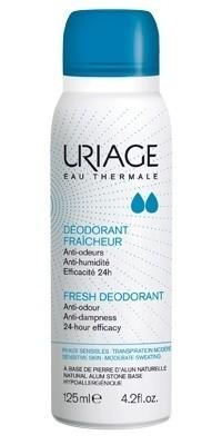Uriage Deodorante Fraicheur alla Pietra di Allume Spray 125ml