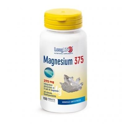 Longlife Magnesium 375 100 tavolette