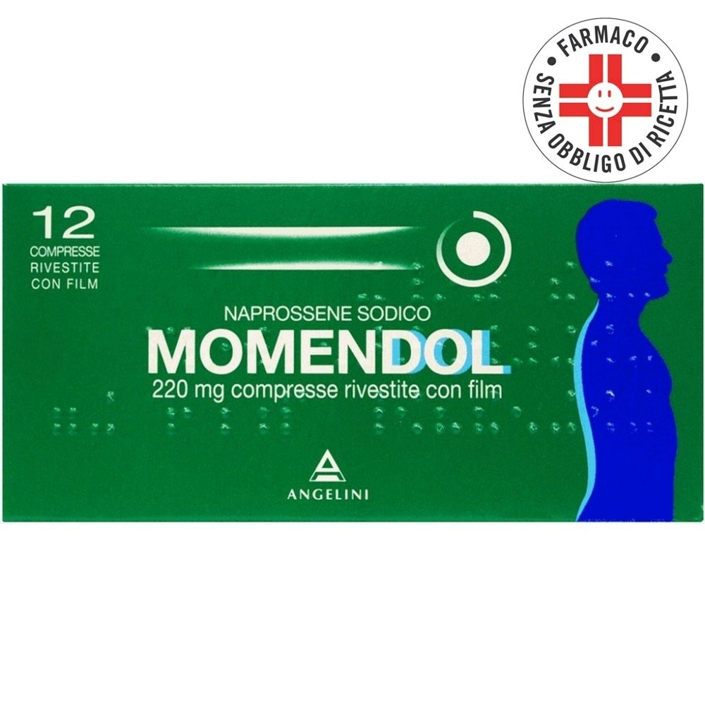 Momendol*12 Compresse Rivestite 220mg