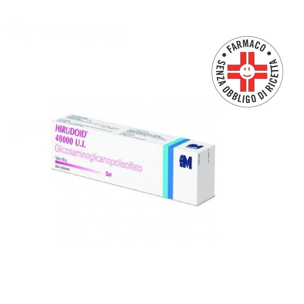 Hirudoid 40000 U.I.* Gel 50gr