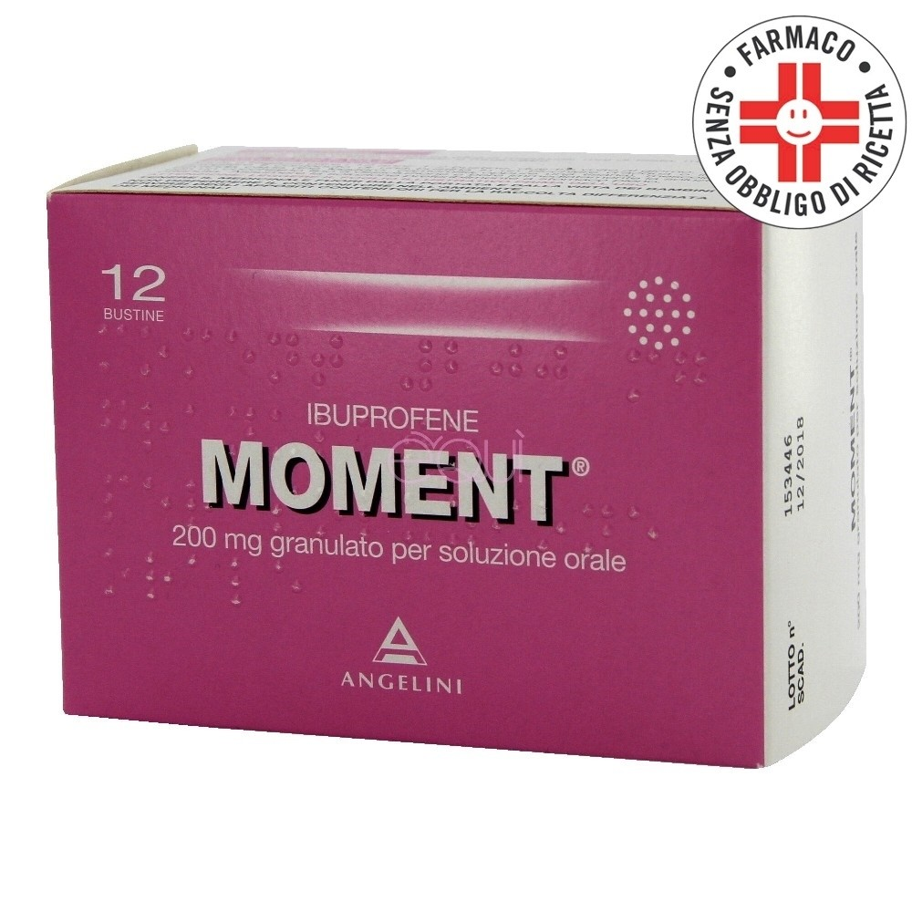 Moment* 12 bustine 200mg