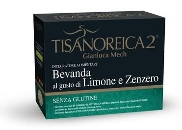 Tisanoreica2 Bevanda al gusto di Limone e Zenzero 4 bustine