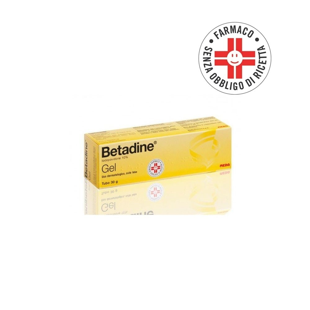 Betadine* Gel 30gr 10%