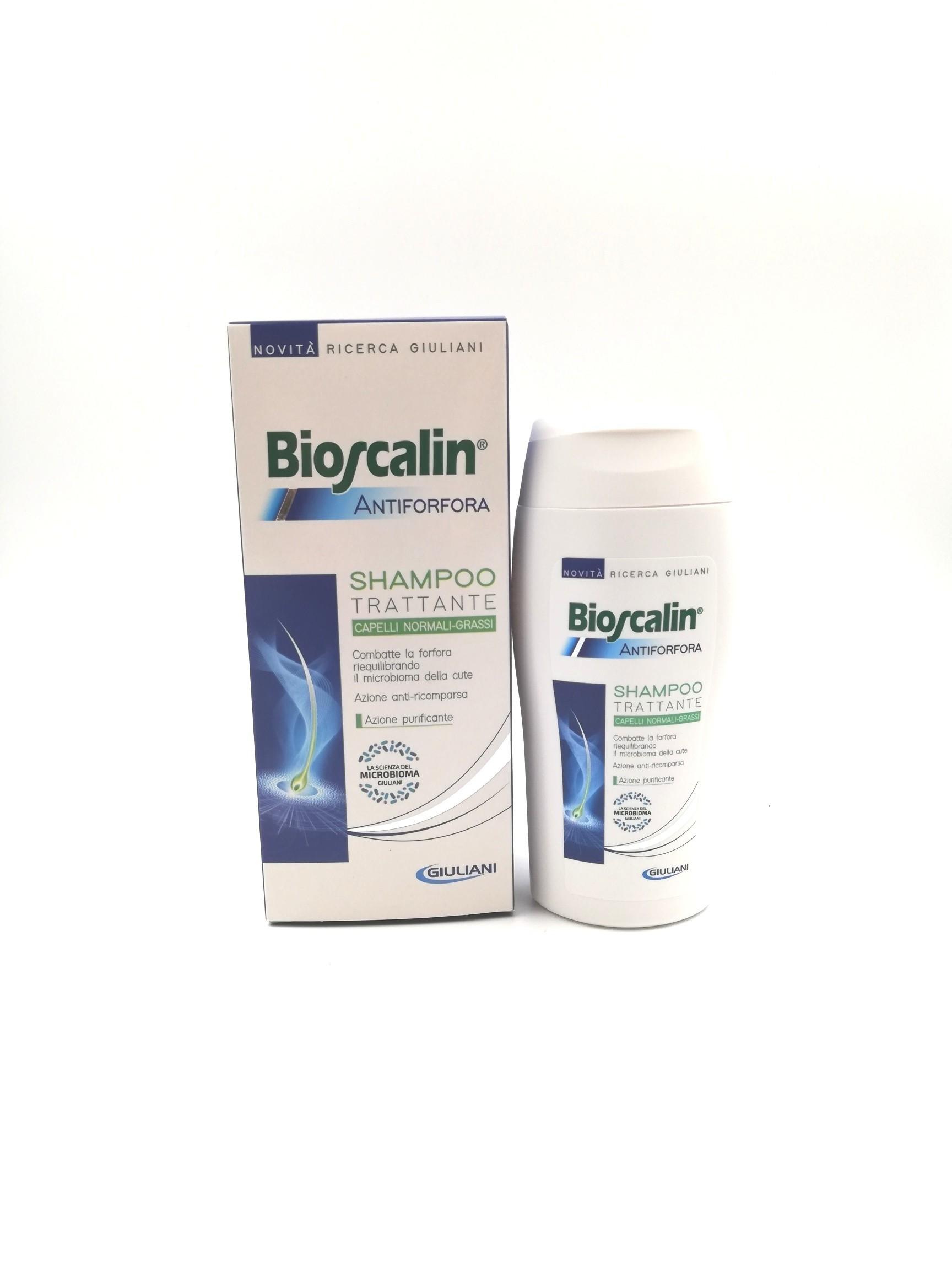 Bioscalin shampoo antiforfora normali-grassi 200ml